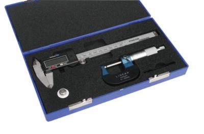 Linear Caliper and Mechanical Micrometer Set -