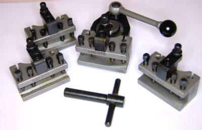 Multifix 5pc 40 Position Quick Change Toolpost 120 - 220 Swing