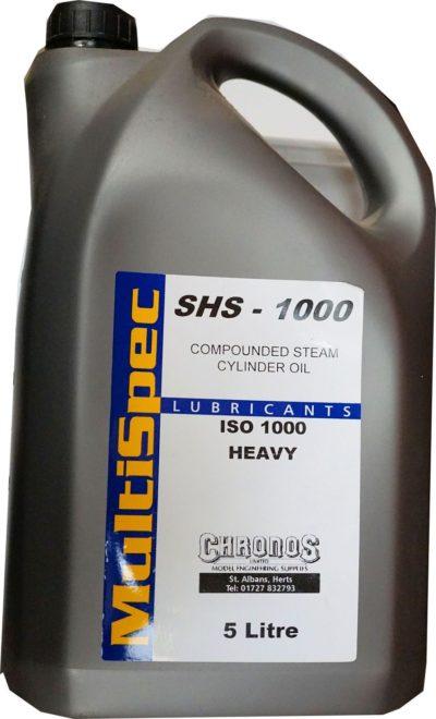 5 Litres of Steam Cylinder Oil